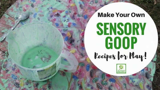 Make your own goop for safe sensory play with this easy DIY recipe!