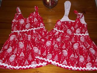 Christmas dresses and puffy paint…hohoho