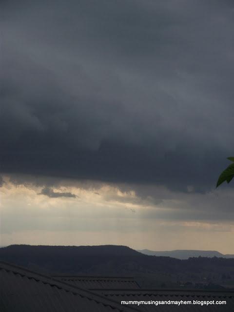 Rain, rain go away…