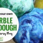 Magic Marble Playdough