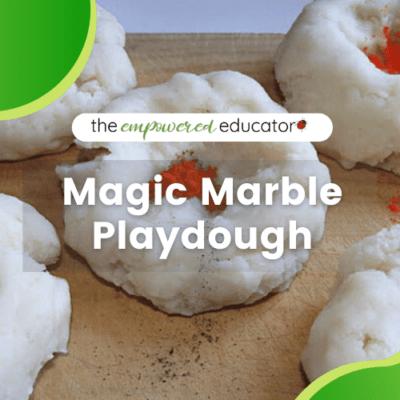 Magic Marble Playdough