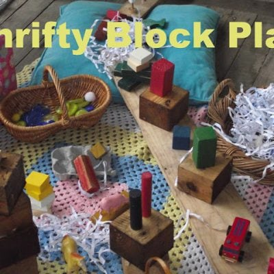 Thrifty Thursday…Block Fun