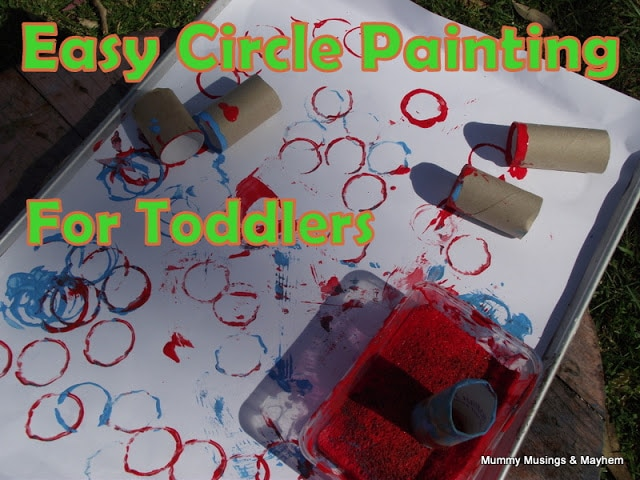 Circle Painting and Injections!