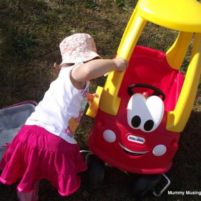 Car Washing Toddler Style!