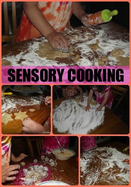 A Nutty, Yummy, Sensory Weekend!