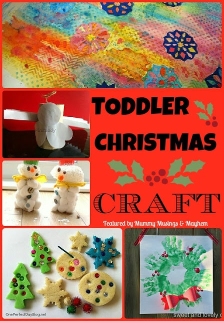 Weekly Kid's Co-Op – Toddler Christmas Craft!
