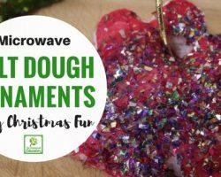 Microwave Salt Dough Ornaments