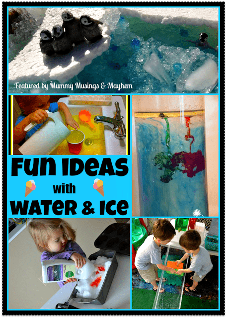 Weekly Kid's Co-Op – Fun with Water & Ice