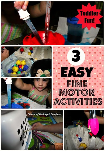 Fine Motor Fun for Challenging Days!