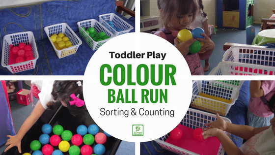 Colour Run & Sort for Toddlers