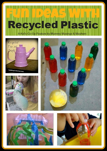 Weekly Kid's Co-Op – Fun with Recycled Plastic!