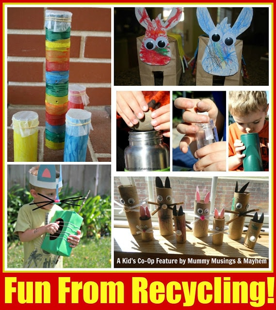 Weekly Kids Co-Op – Fun with Recycling!