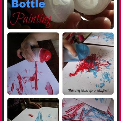 Recycling Deodorant Bottles for Fun!
