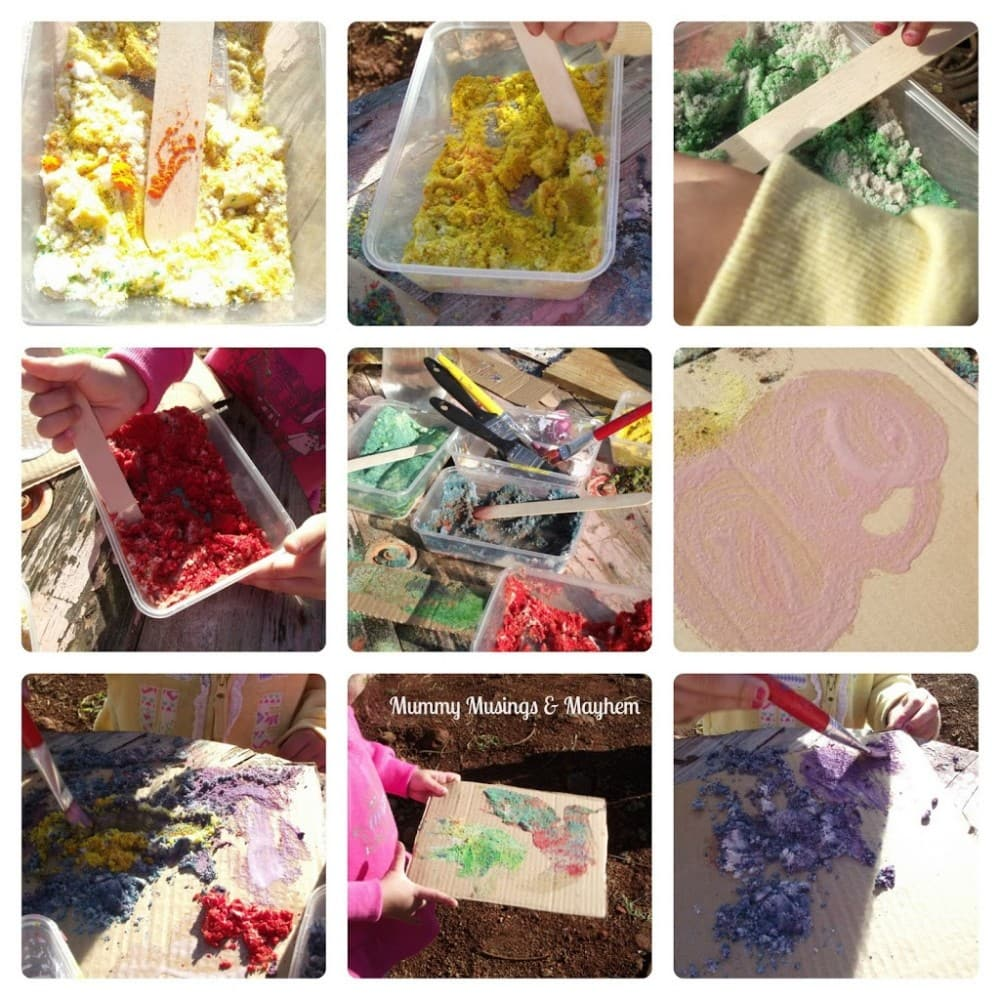 Toddler Sensory Sand Art & Play