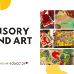 Sensory Sand Art for the Whole Family!