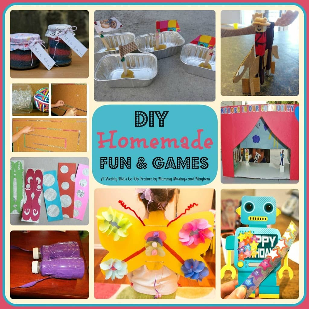 Weekly Kid S Co Op Diy Homemade Fun Games The Empowered Educator