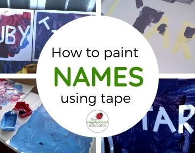 Learning with Magic Tape Names!