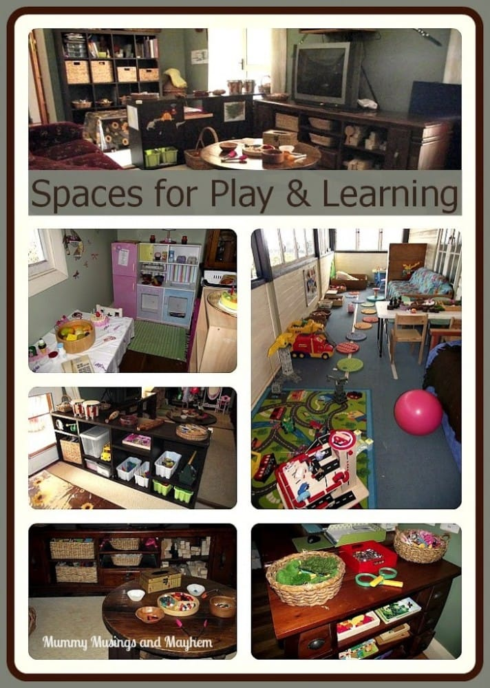 Setting up Playspaces for Home Daycare -  take a tour into an early years home based daycare service