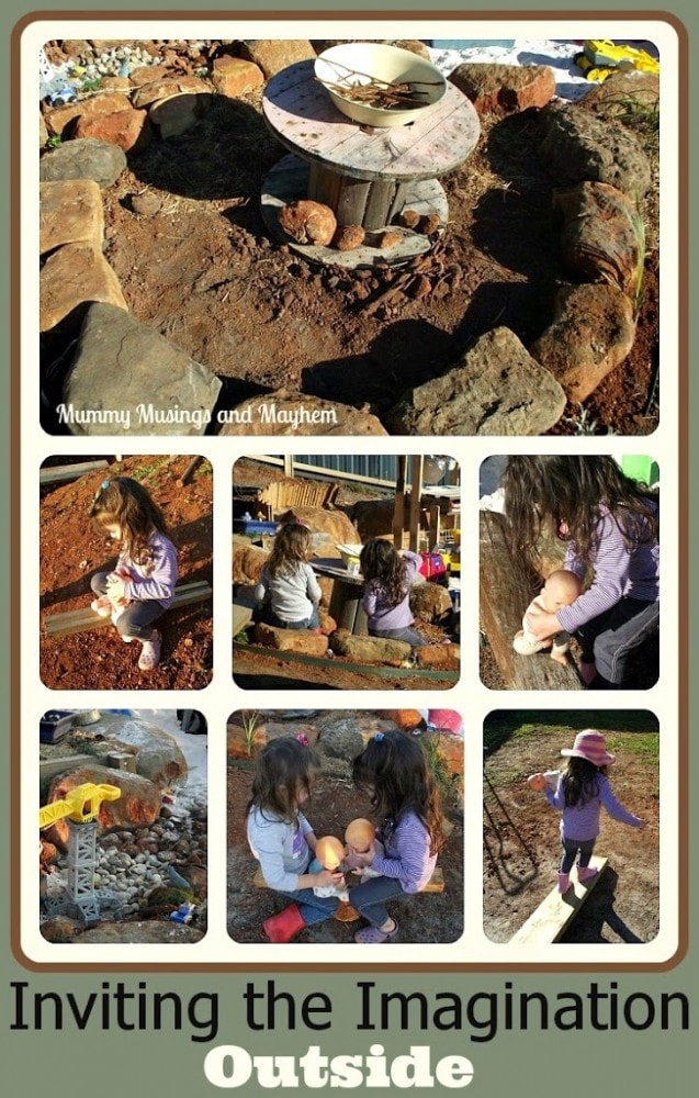 Activties for outdoors and imagination