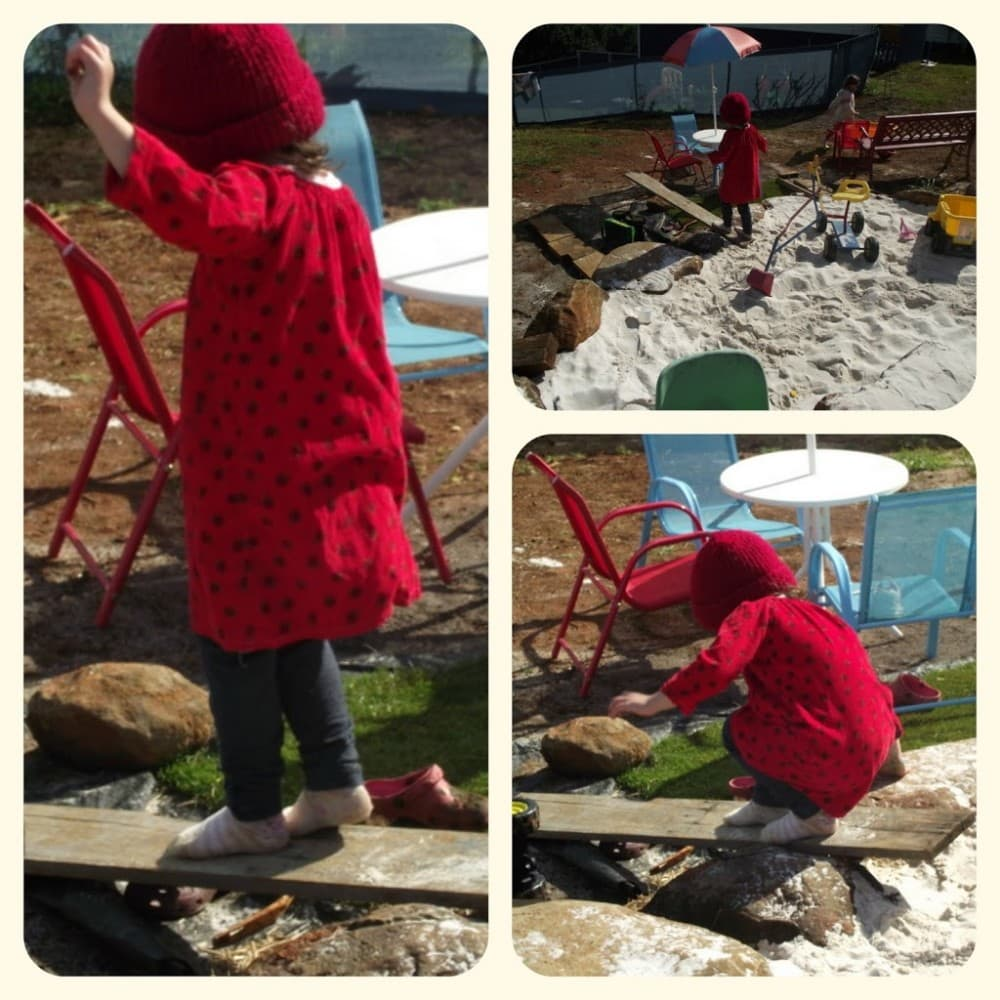 Risk taking in Natural Playspaces - Mummy Musings and Mayhem