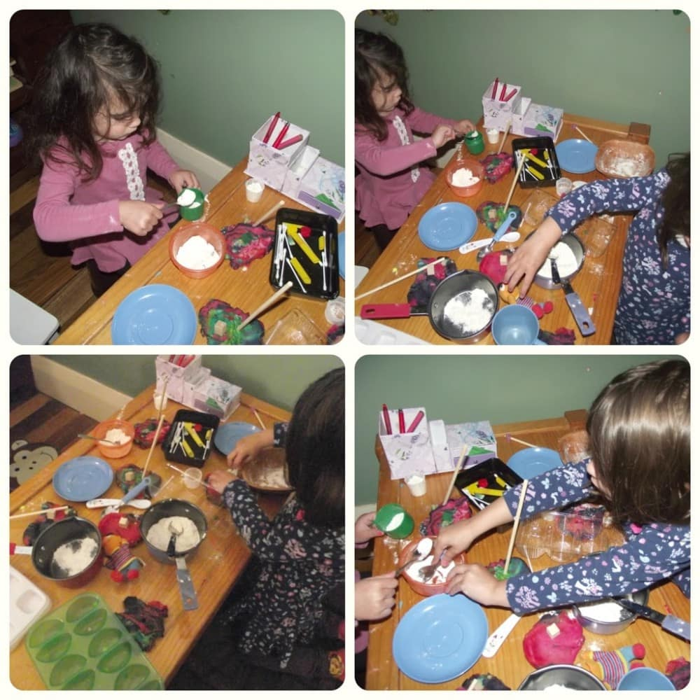 Toddler Mix and Mess Cooking Play