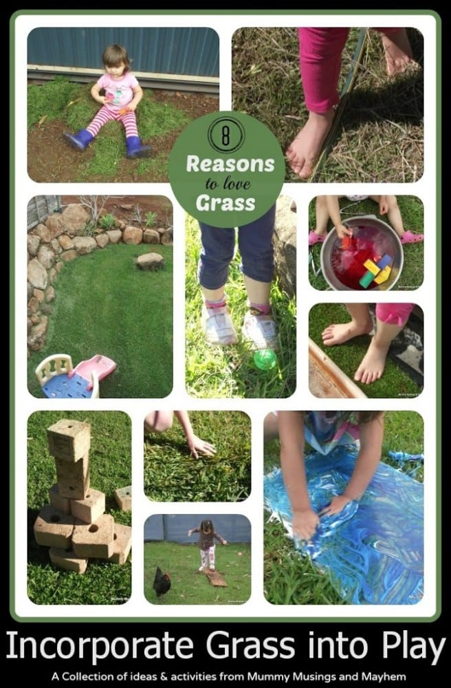 An inspiring collection of activities to have fun out on the grass!