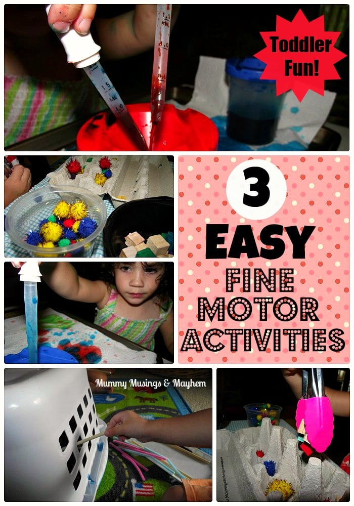 Weekly Kids Co-Op & Fine Motor Colour Fun!
