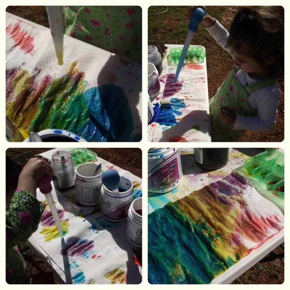 Fine Motor Colour Mixing Fun - Mummy Musings and Mayhem