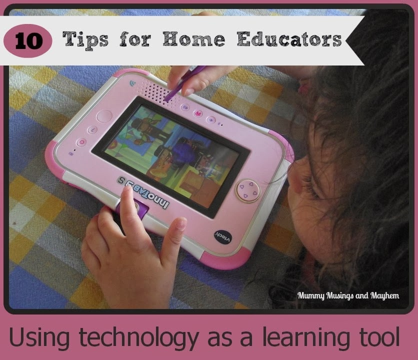 10 Ways to use technology as a learning tool…and a Vtech Innotab 3S  giveaway!