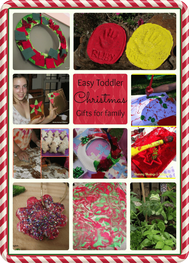 easy toddler christmas gifts for family - Easy Christmas Gifts To Make