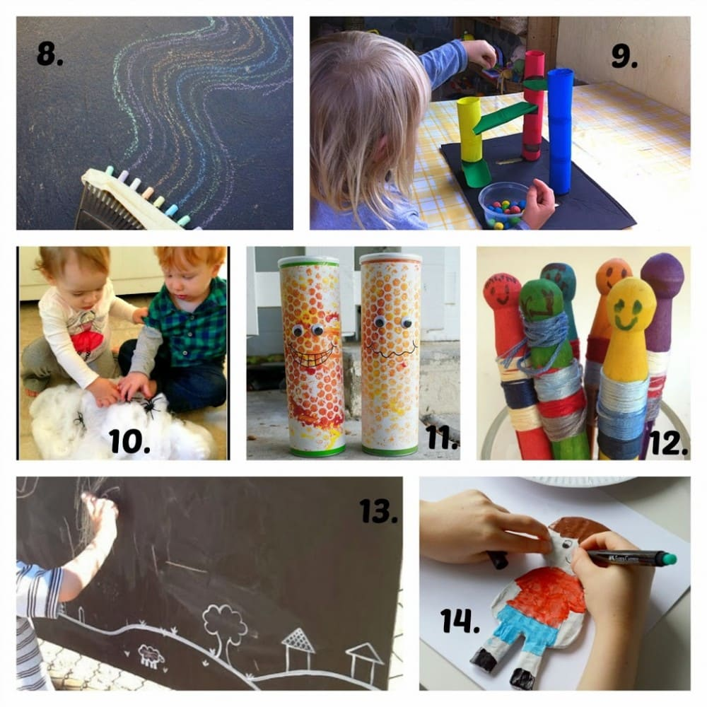 18 Ideas for DIY Fun and Play via Mummy Musings and Mayhem