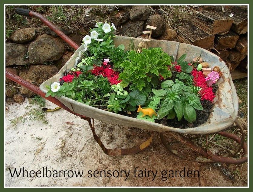 sensory Fairy garden fun from Mummy Musings and Mayhem