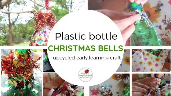 plastic bottle christmas bells an easy and inexpensive craft for early learning