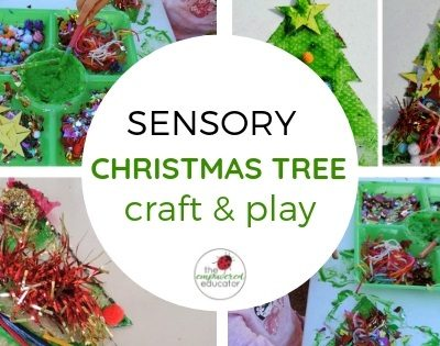 Sensory Christmas Tree Craft