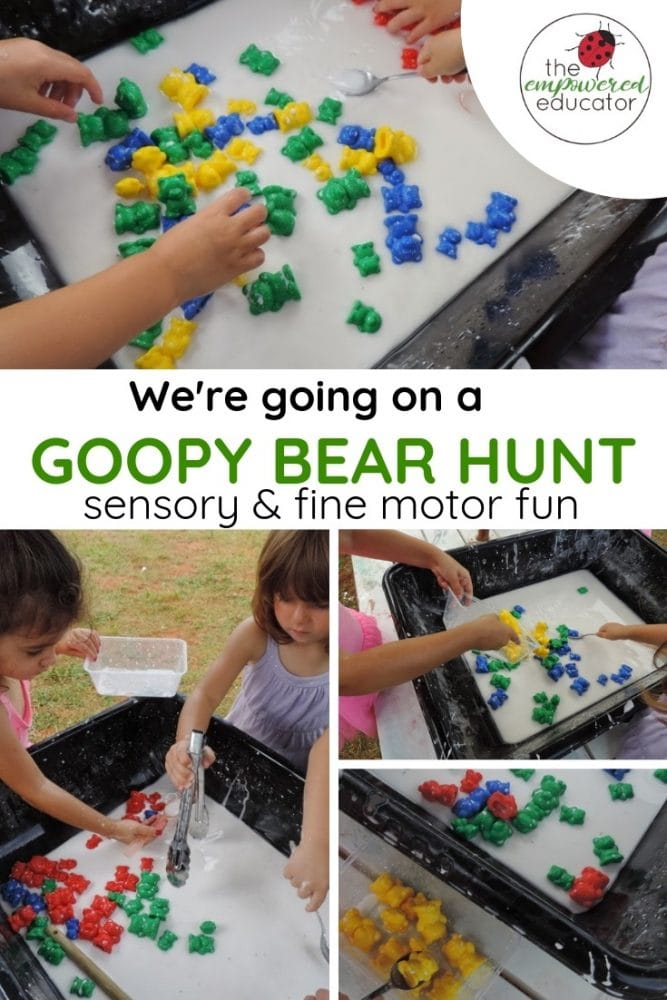 We're going a goopy bear hunt pinterest 1