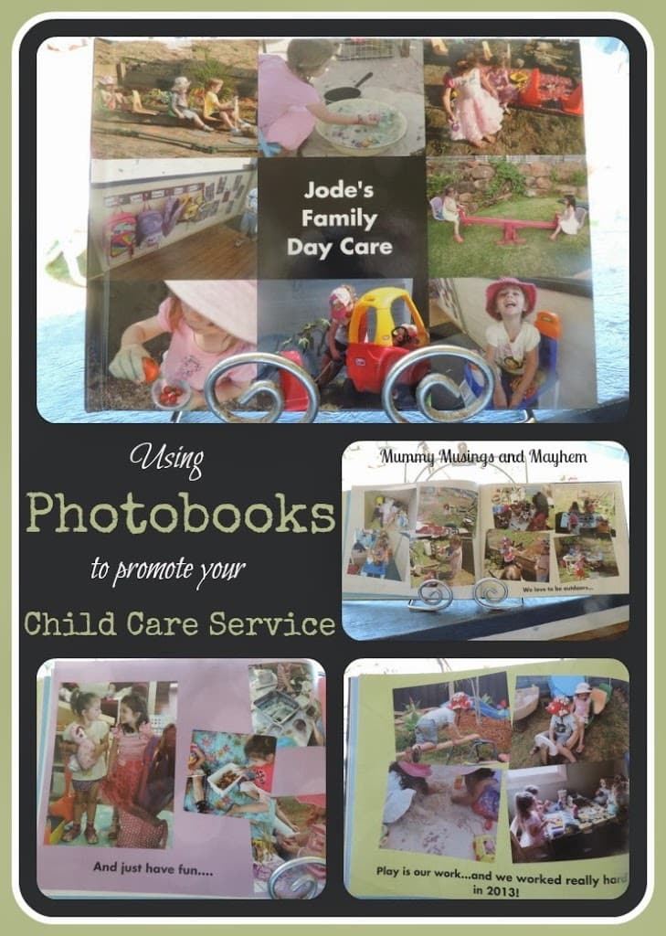 Using Photo Books to promote your child care service…(plus Snapfish Discount Codes!)