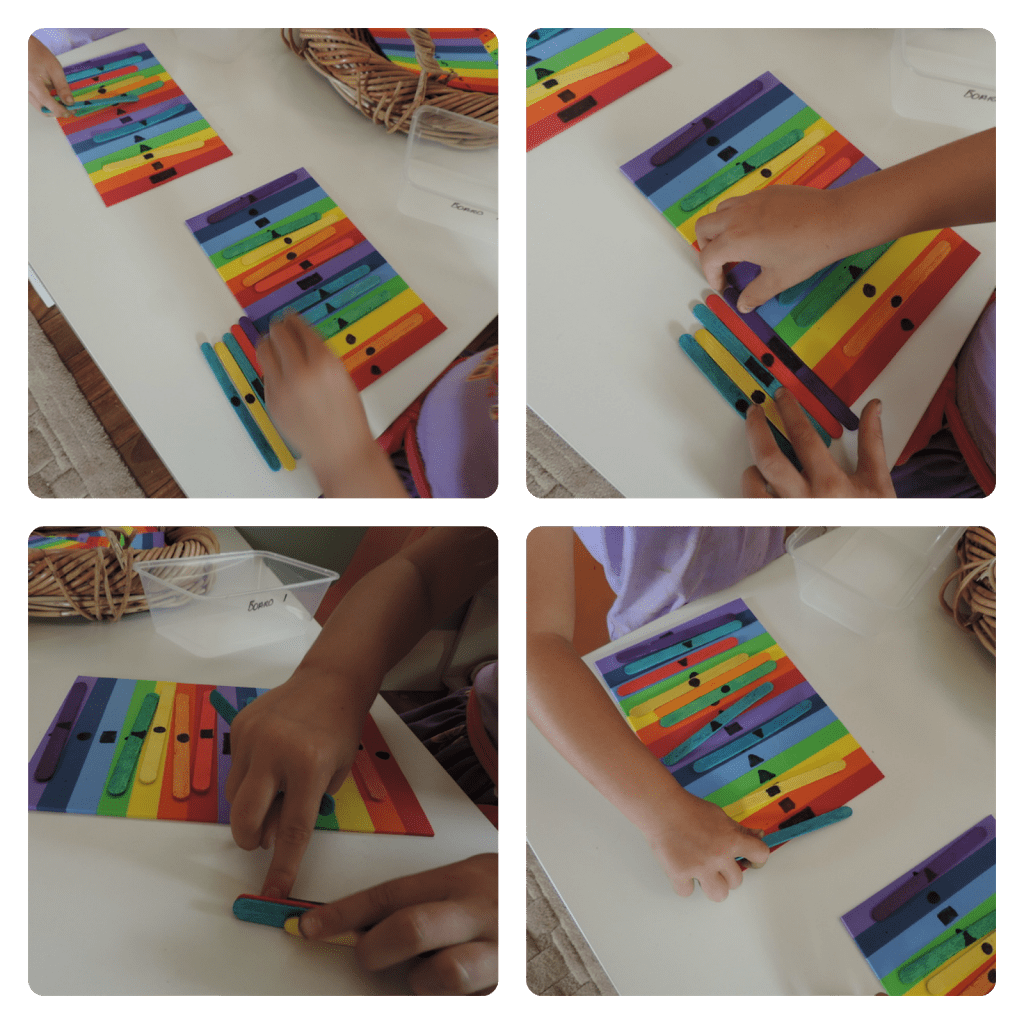 Homemade Resources - Colour, shape and number sequence and match games. Mummy Musings and Mayhem