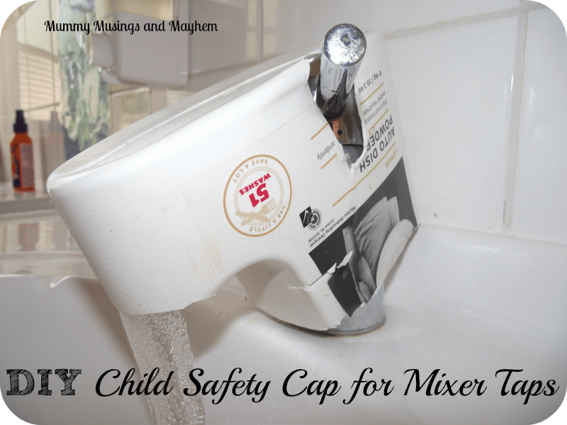 DIY Safety Cap for Mixer Taps - Great Solution for Home Daycare by Mummy Musings and Mayhem