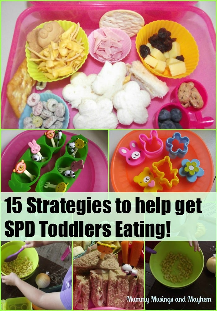 15 strategies to help get SPD toddlers eating