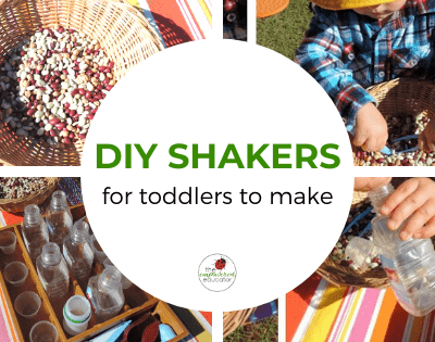 Easy DIY Toddler Shakers – Sustainable Fine Motor Fun!