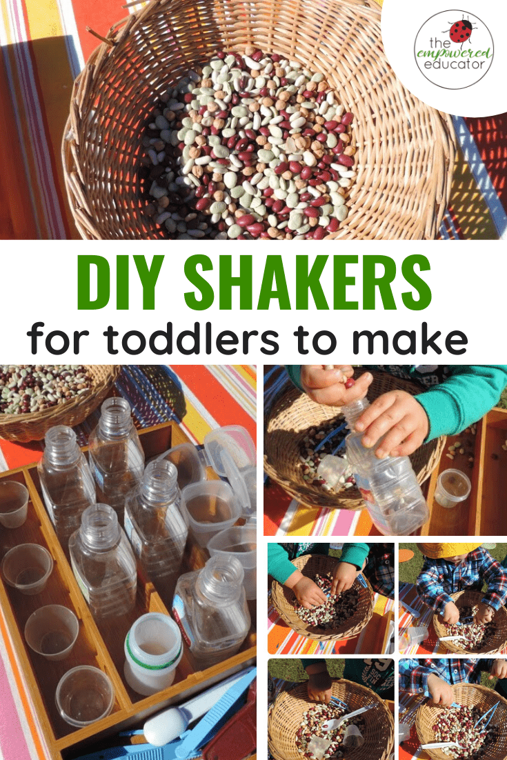 DIY shakers for toddlers to make pinterest