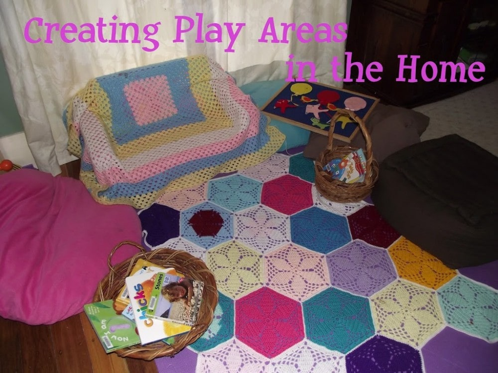 Creating play spaces in your home