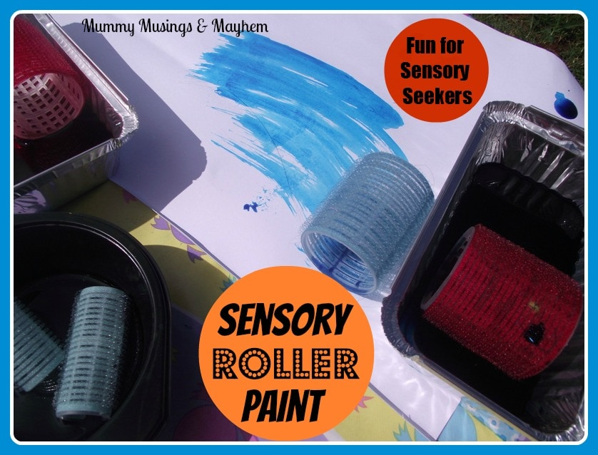 Toddler fine motor sensory paint