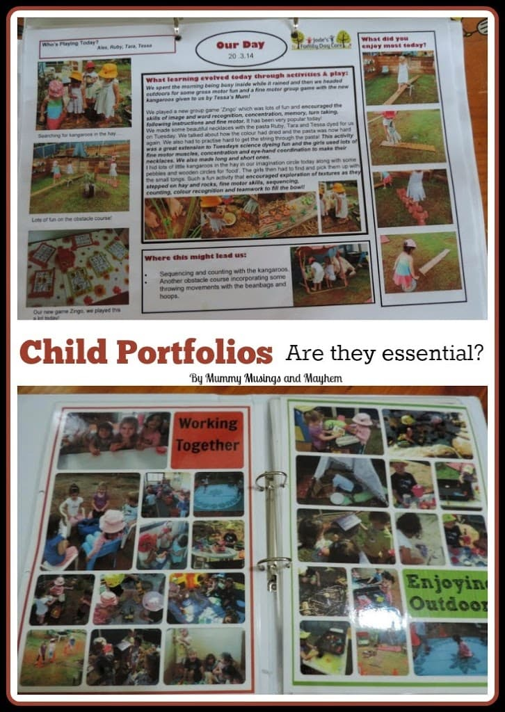 Child portfolios in early childhood settings...are they necessary to meet EYLF outcomes? 15 Questions to ask first!