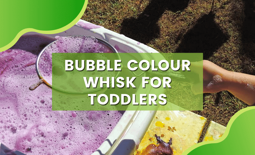 BUBBLE COLOUR WHISK FOR TODDLERS
