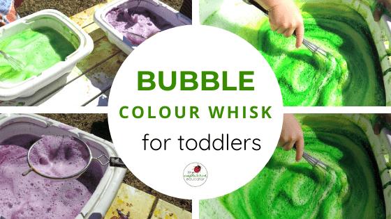 bubble colour whisk feature