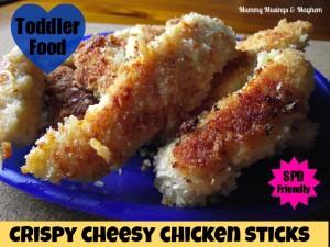 Fussy Toddler SPD Finger Food