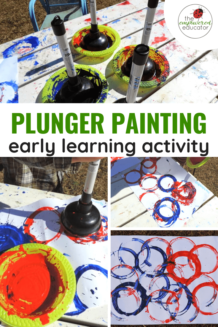 plunger painting pinterest