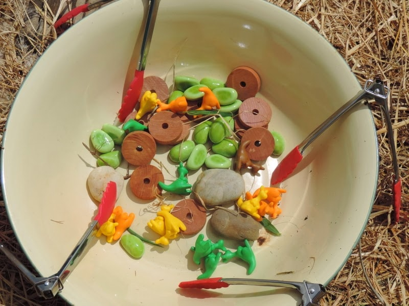 6 Fun Fine Motor Play Ideas with Tongs