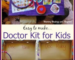 Easy to Make Doctor's Kit Play for Kids!